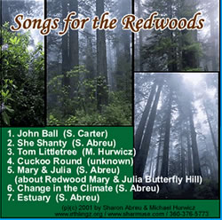 songs for the redwoods